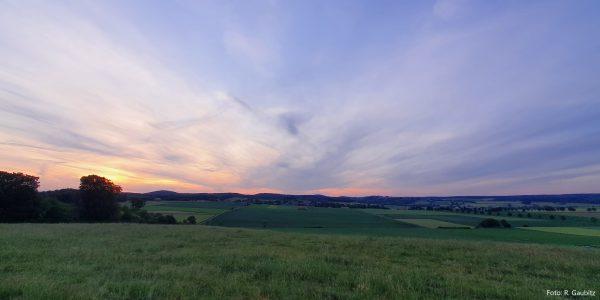 Blick vom Windpark Richtung Altenheerse