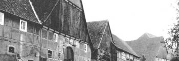 Dorfansicht um 1930