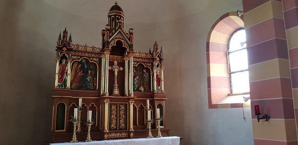 Hochaltar der Pfarrkirche St. Georg