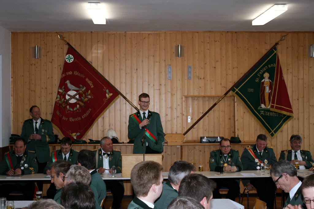 Hauptversammlung am 24. Januar 2015
