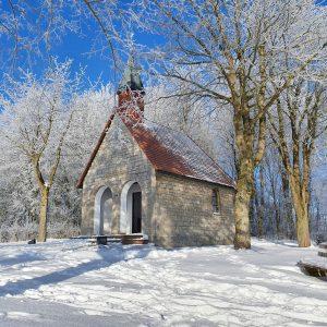 Himmelsbergkapelle im Winter