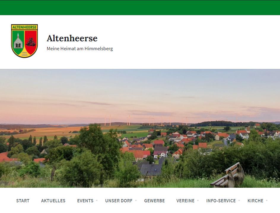 Meine Heimat am Himmelsberg